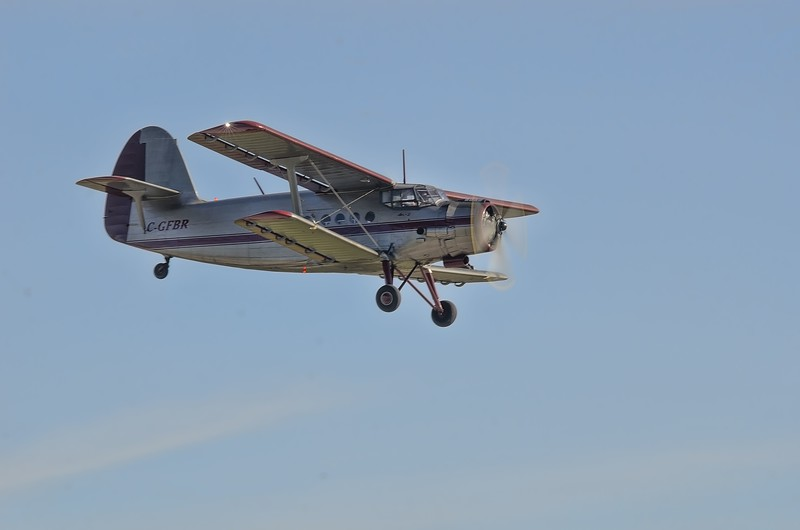 AN-2 slow flyby