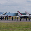 US Air Force Thunderbirds FOD Walk