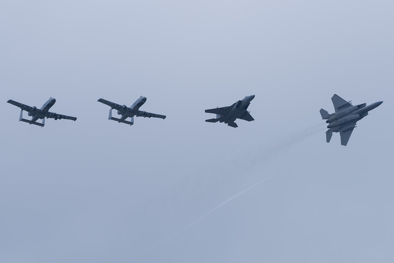 104th Fighter Wing F-15 and A-10 East Demo Team