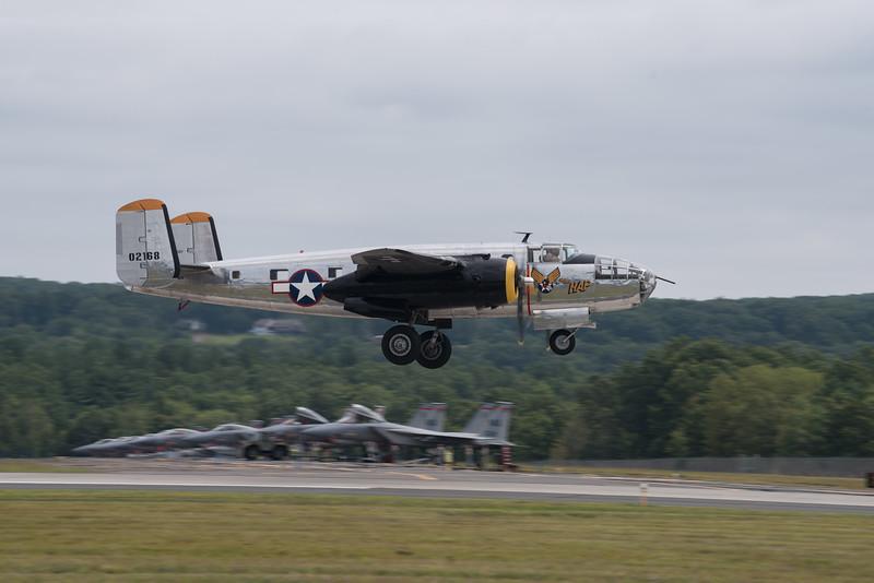 "North American B-25 Mitchell ""Miss Hap"""