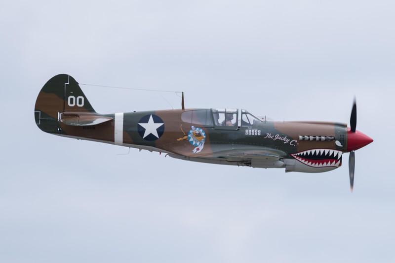 "Curtiss P-40 ""Warhawk"""