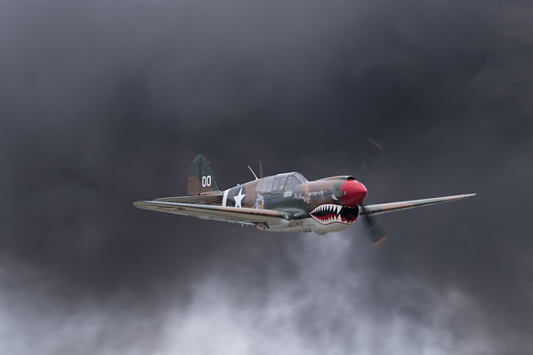 "Curtiss P-40 ""Warhawk"""