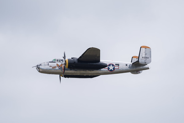 "North American B-25 Mitchell ""Miss Hap"""