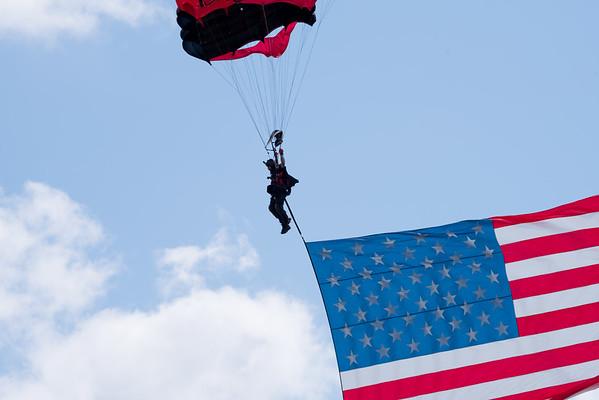 Black Daggers Parachute Demonstration Team