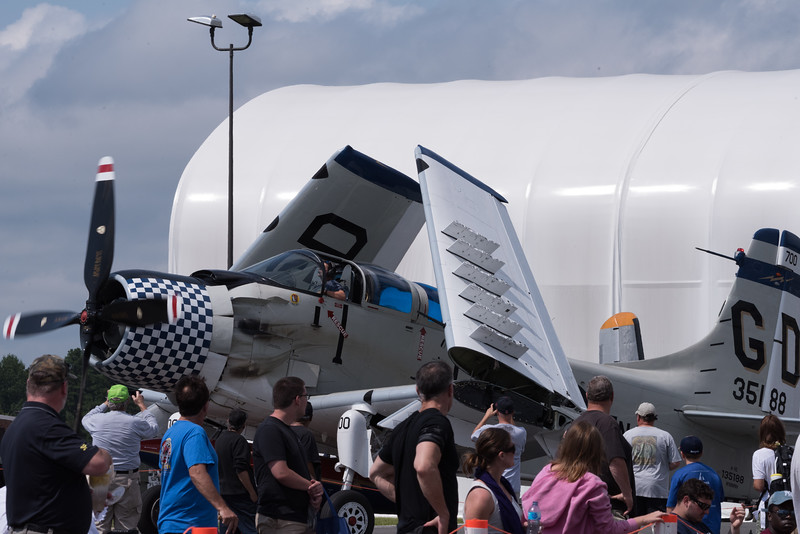 Collings Foundation A-1E Skyraider