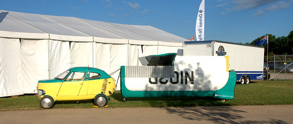 Back in the 60's we were promised flying cars.  They've got them at Oshkosh