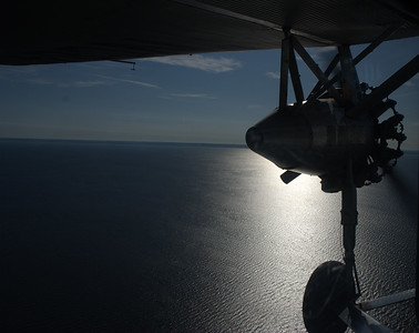 Over Lake Winnebago in a 1929 Ford Tri-Motor