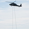 UH-60 Blackhawk with Army Ranger Special Patrol Insertion/Extraction (S.P.I.E.)