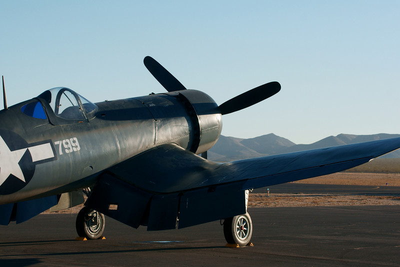 Vought Corsair Apple Valley CA Airshow 2010