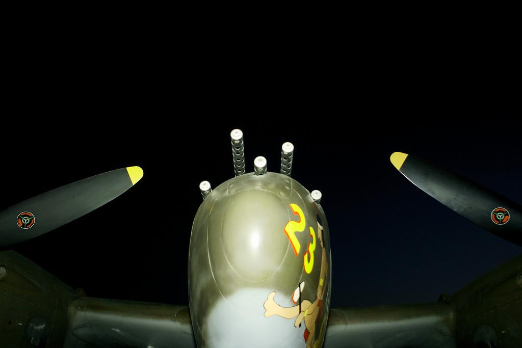 P-38 Lightning Apple Valley CA Airshow 2010