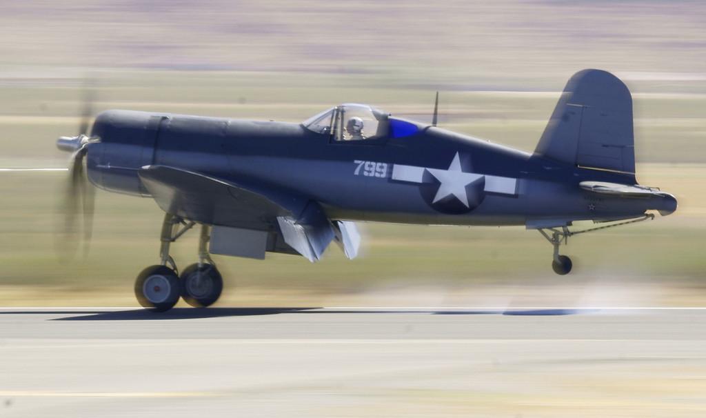 Vought Corsair Apple Valley CA Airshow 2010
