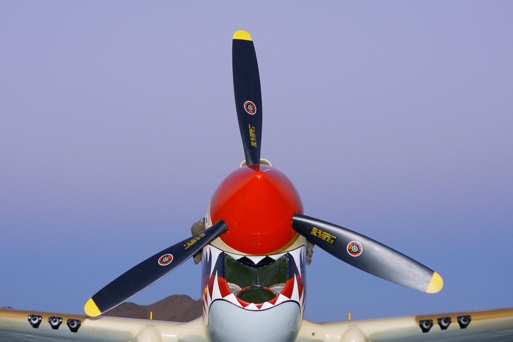Curtis Warhawk P-40N Apple Valley CA Airshow 2010