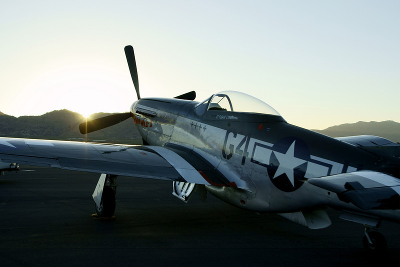 P51 Mustang Apple Valley CA Airshow 2010