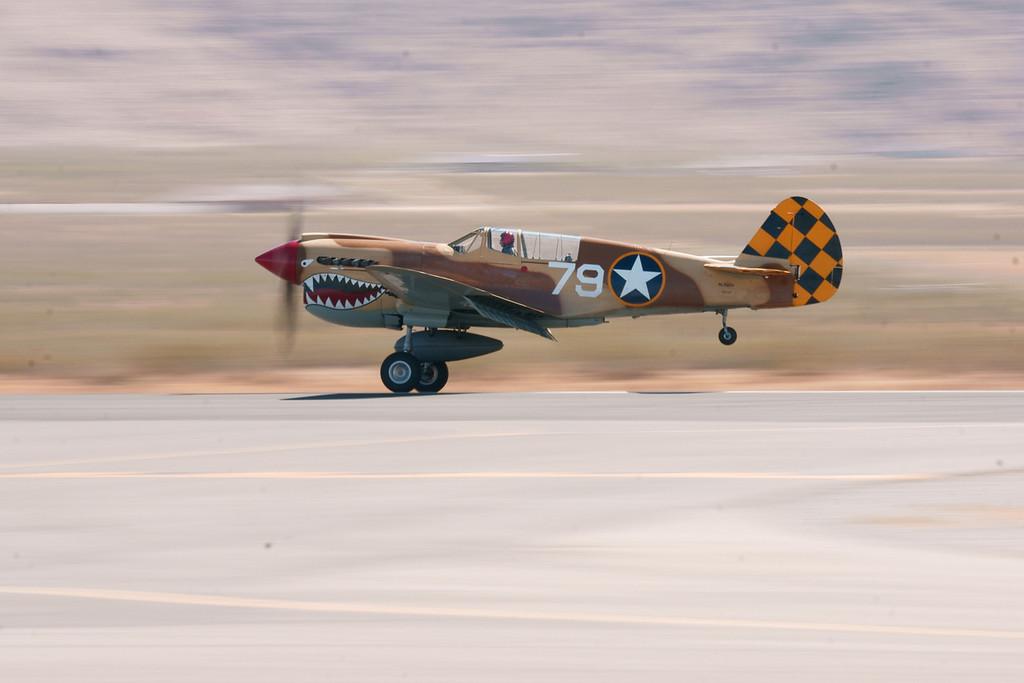 Curtis Warhawk Apple Valley CA Airshow 2010