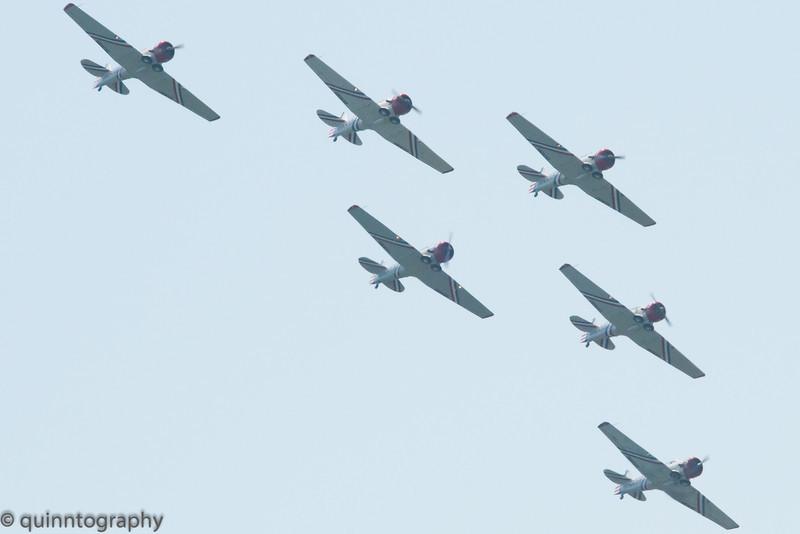 SNJ 2 Geico Aerobatic Team
