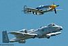 P-51 Mustang & US Air Force A-10C Thunderbolt