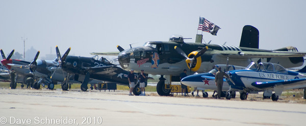 Old WWII planes - called War Birds.
