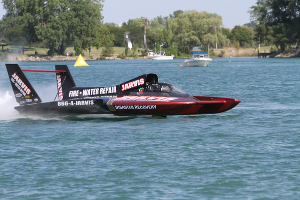 Detroit Michigan Gold Cup Boat Races July 2010