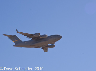 C17 Globemaster III cargo jet