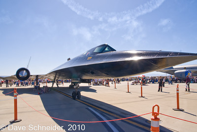 SR-71 from ground level