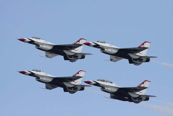 Milwaukee Air Show July 25-26, 2009 Thunderbirds