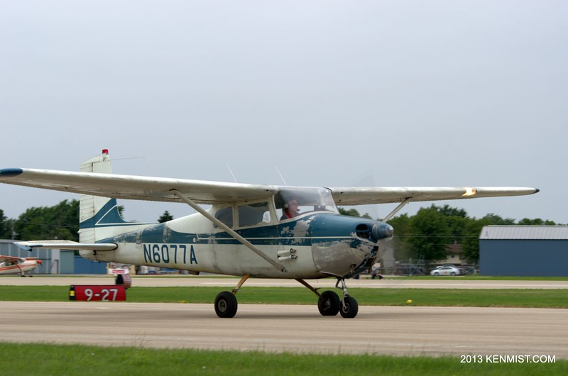 1956 Cessna 172 could use a paint job