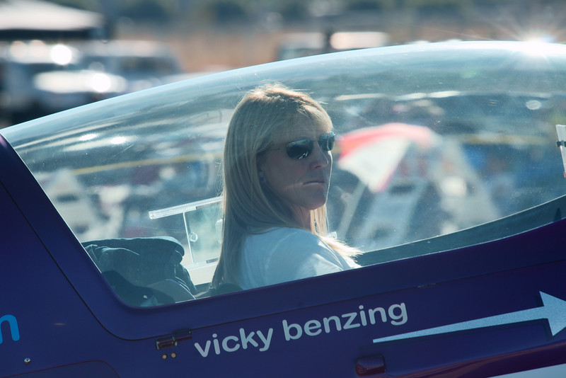 Vicky Benzing, Redlands CA Airshow October 9 2010