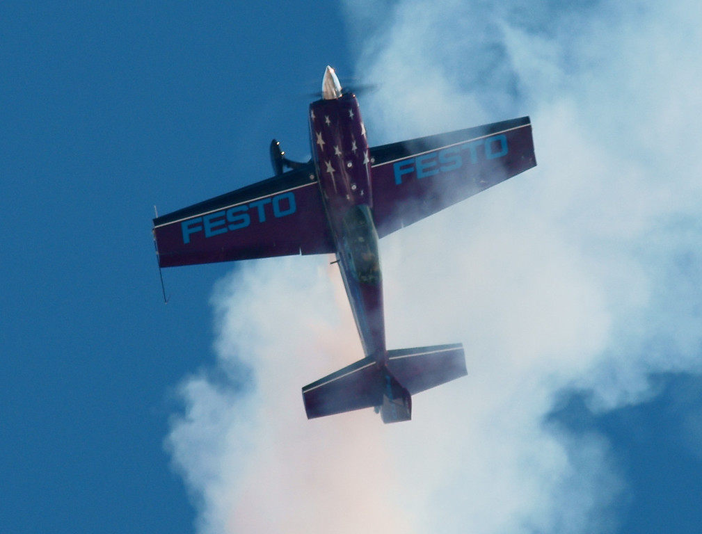 Vicky Benzing, Redlands CA Airshow October 9 2010