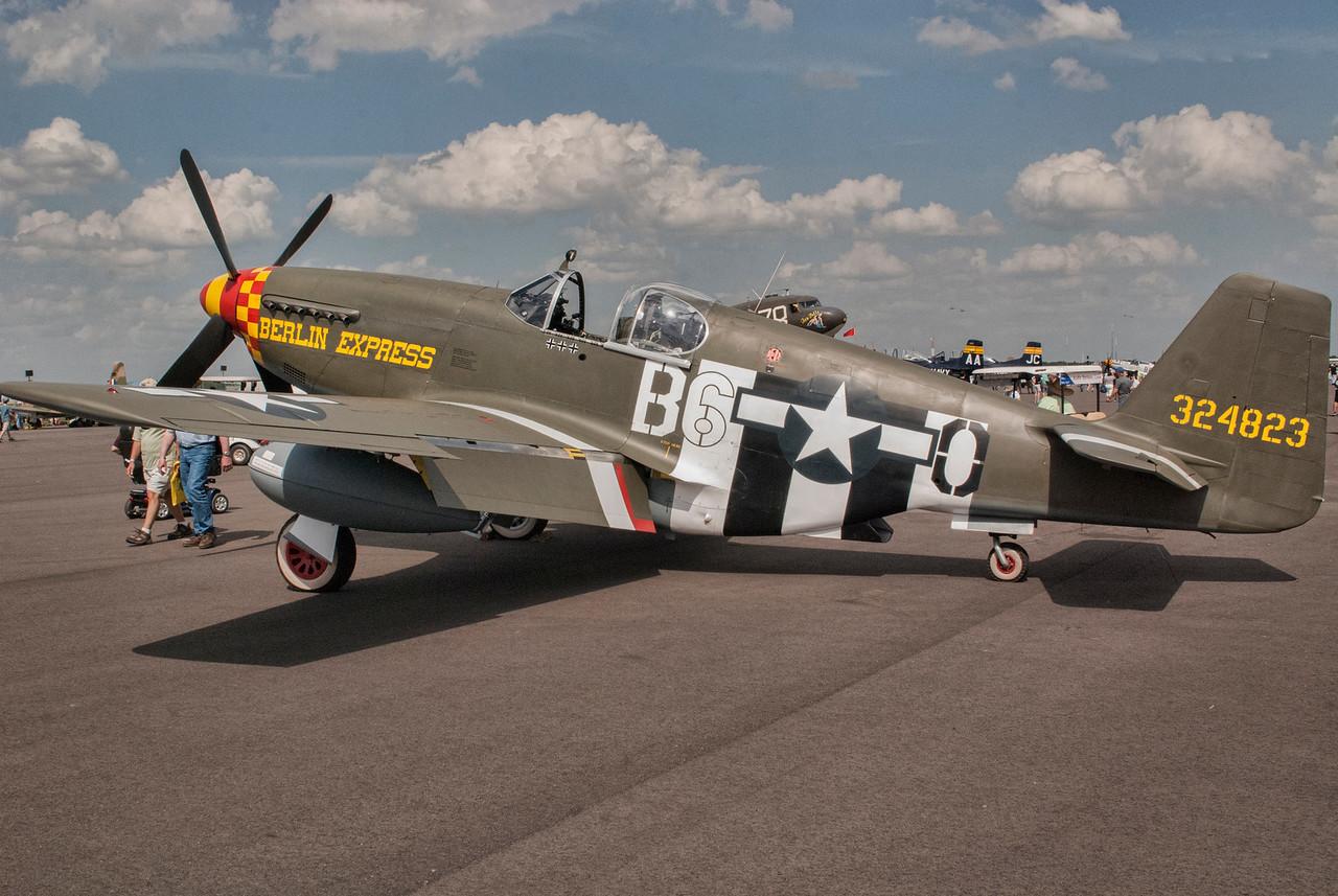 "P-51B ""Berlin Express"" at Sun 'n Fun 2016"