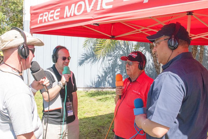 Early morning radio spot with Sun 'n Fun Radio.  George Hardy and Bill Shepard being interviewed