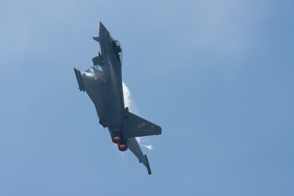 Typhoon at Throckmorton airshow 2013 June