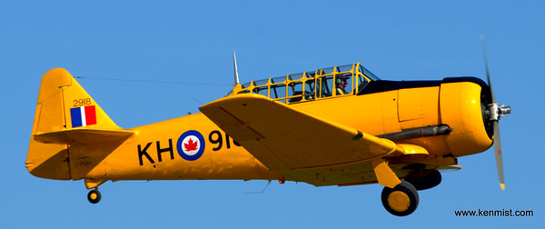 Harvards at Tillsonburg Regional Airport.