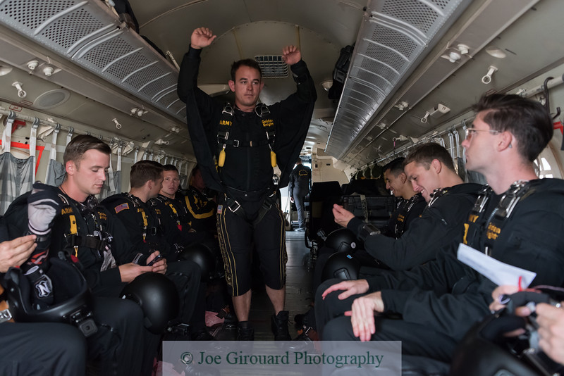 US Army Golden Knights Ride Along