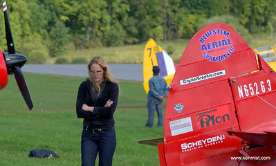 Carol Pilon of Third Strike Wingwalking.