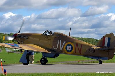 Vintage Wings of Canada Hurricane.