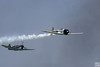 P-51 is after a Zero fighter