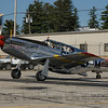 "P-51C ""Betty Jane"" preparing to take flight"