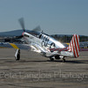 "P-51C ""Betty Jane"" preparing to take flight"