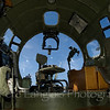 "Inside the B-17G Flying Fortress ""Nine O Nine"" on display at the Aviation Museum of NH located at the Manchester-Boston Regional Airport"