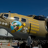 "B-17G Flying Fortress ""Nine O Nine"" on display at the Aviation Museum of NH located at the Manchester-Boston Regional Airport"