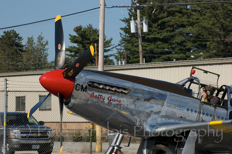 P-51C on display at the Aviation Museum of NH located at the Manchester-Boston Regional Airport