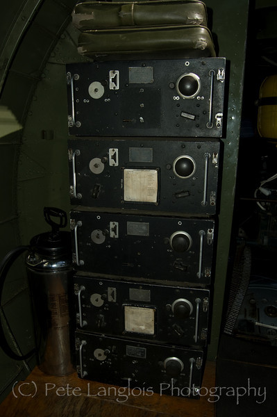 """Inside the B-17G Flying Fortress """"Nine O Nine"""" on display at the Aviation Museum of NH located at the Manchester-Boston Regional Airport"""