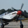 "P-51C ""Betty Jane"" returns safely to Manchester-Boston Regional Airport"