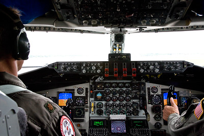 KC-135 Media Flight - 2009