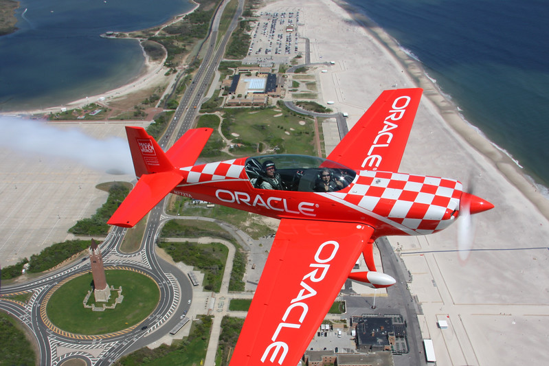 Sean Tucker; jones beach airshow; fleet week; nyc; new york; airshow; srsimages; oracle; scott snorteland; air to air; aerobatics