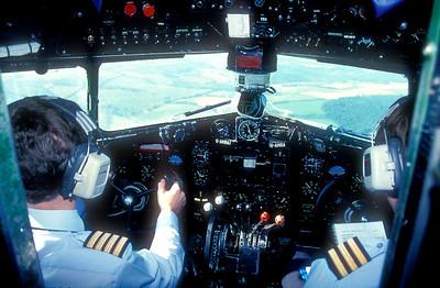 DC£ cockpit