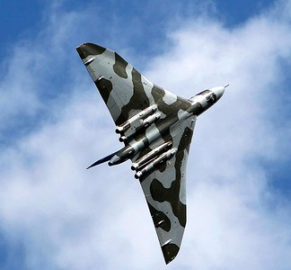 Vulcan at Cosford Air Display 2009
