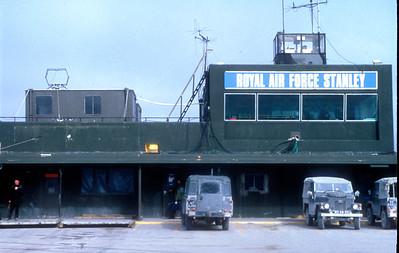 RAF Stanley 1986.