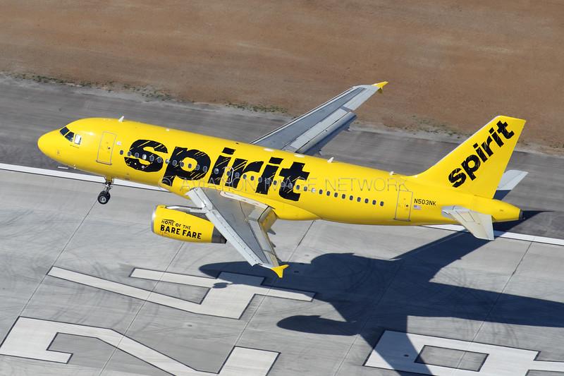 N503NK   Airbus A319-132   Spirit Airlines