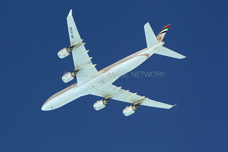 A6-EHD   Airbus A340-541   Etihad Airways